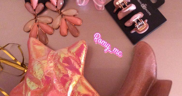 Accessori rosa