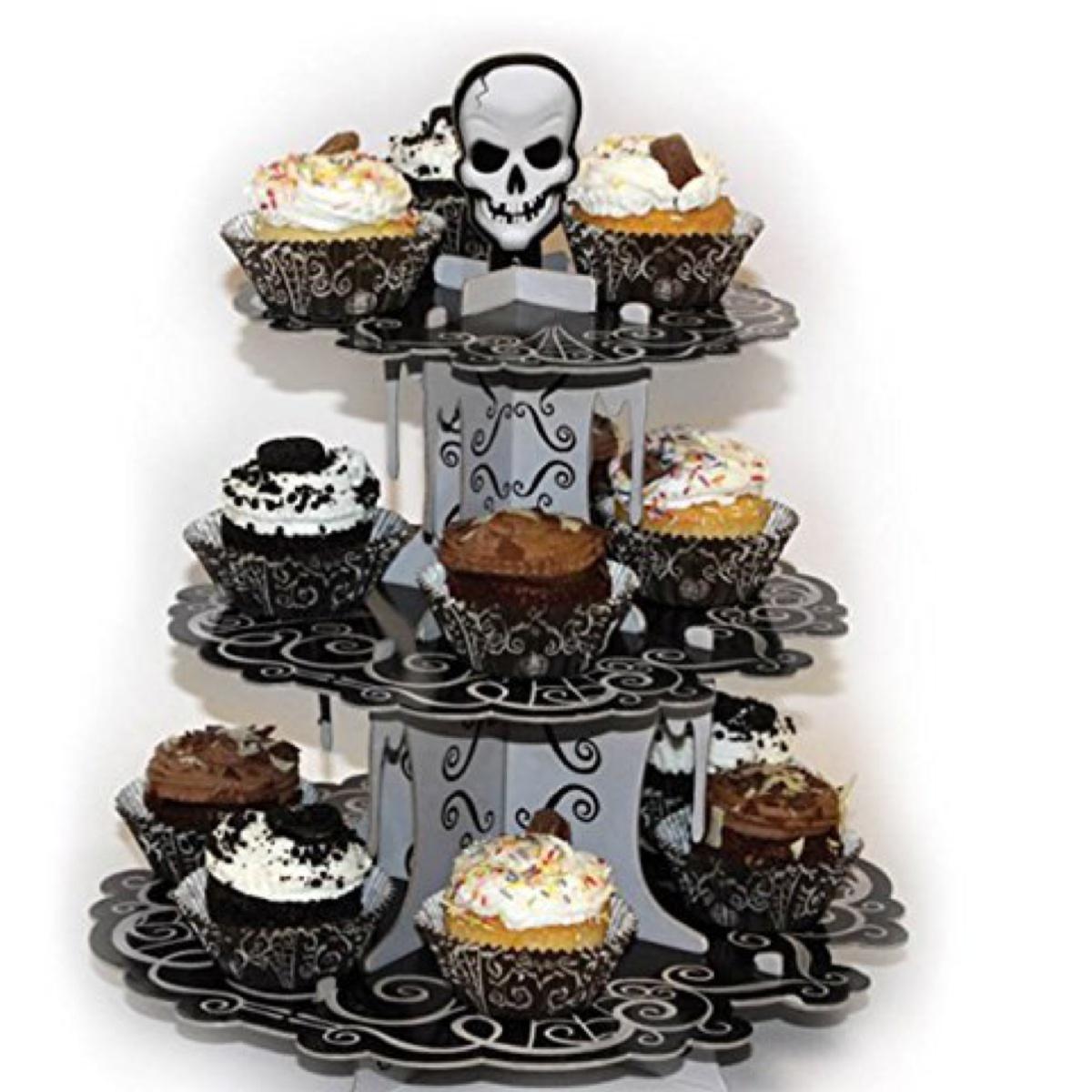 Porta muffin e cupcake che trovate su Amazon